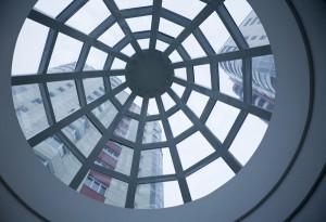 Atrium, looking up
