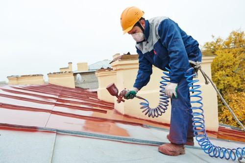 Barva na plechovou střechu